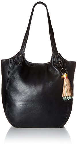 The Sak Tansy Leather Tote - Black - One Size