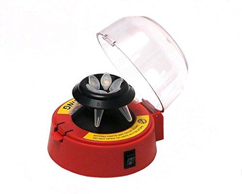 BENCHMA - Mini-Centrifuge w/ 2 rotors-Red , EA1