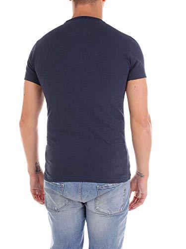 Woolrich shirt T Uomo Blu Girocollo Da qRrOT0cAq