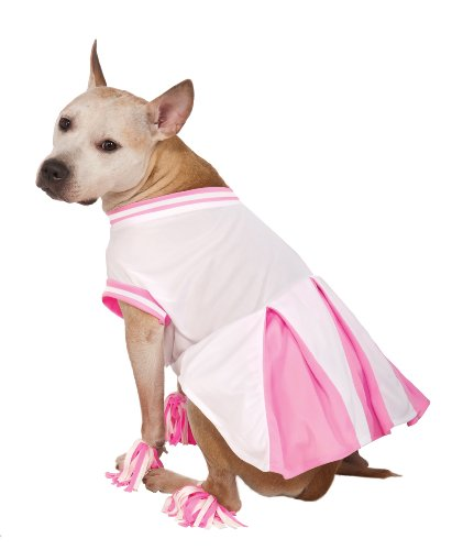 Rubie's Pet Costume, X-Large, Pink Cheerleader