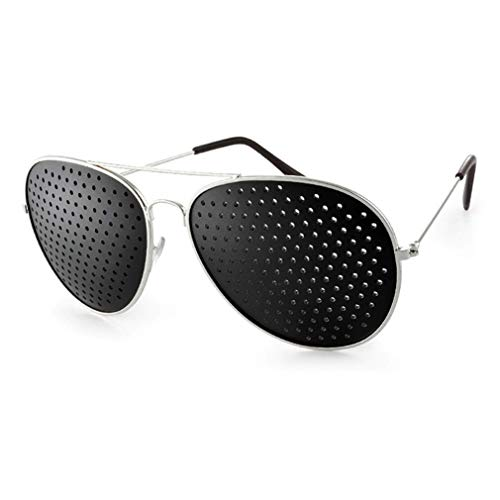 (Pinhole Glasses Eyesight Improvement Anti-Fatigue Eyesight Strengthening Astigmatism Glasses)