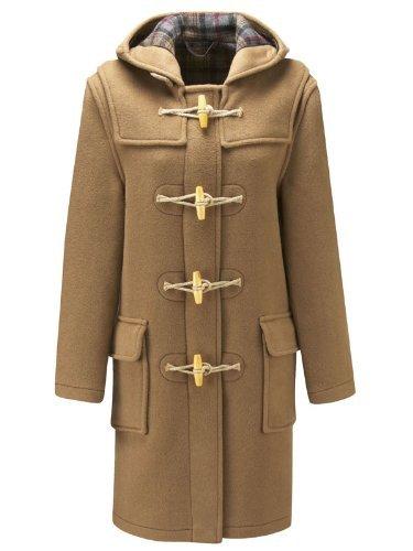 Womens Toggle Coat - Original Montgomery Womens Wooden Toggles Duffle Coat (20, Camel)