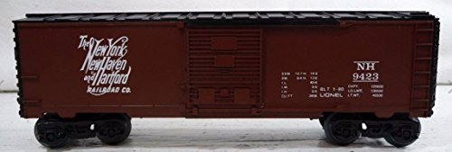 LIONEL TRAINS NEW YORK NEW HAVEN AND HARTFORD RAILROAD BOXCAR 9423