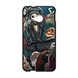 HTC One M7 Phone Cases Black The Nightmare Before Christmas FJo898825
