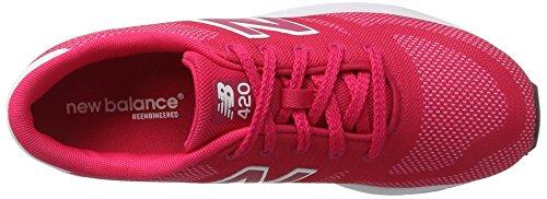 420 New Mixte Enfant Balance pink Rose white Baskets WvWa5Rf