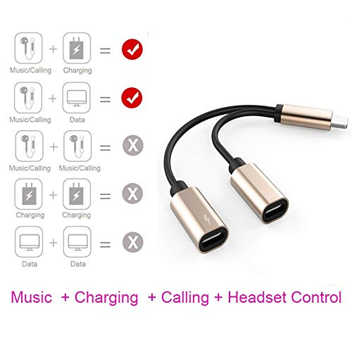 LingStore in Fast Charge Audio Adapter for iPhone 7 8 Plus 11 10.3 Cable Cable Connector Converter