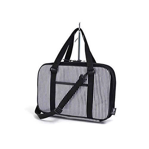 Kids Calligraphy, penmanship bag rated on style N2203900 Nippon Sei Hickory navy blue stripe (bag only) (japan import)