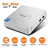 Mini PC,ACEPC T11 Windows 10 Pro(64-bit) Intel x5-Z8350 Fanless Mini Computer with HDMI/VGA