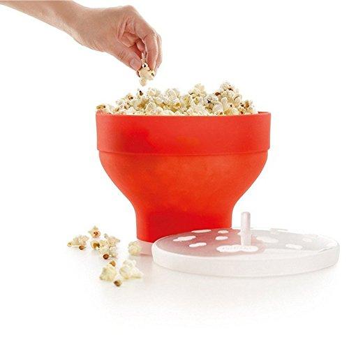 FunnyTod365 - Cuenco para hacer palomitas de maíz (microondas, con ...