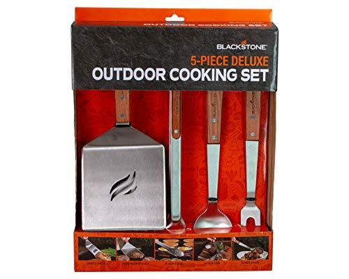 Blackstone 5039 5 Piece Tool Kit Wood Handle