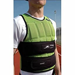 Speed-vest™ (Long) Breathable 1-17 Lb. Athlete Training Weighted Vest