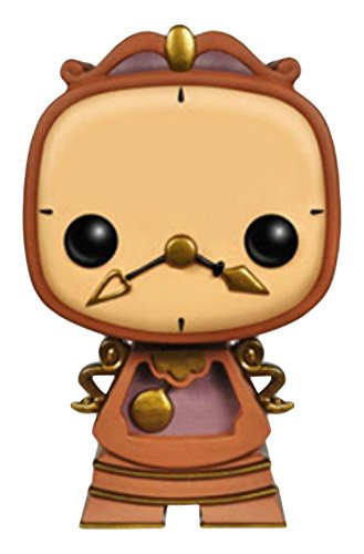 Cogsworth Beauty Beast (Funko POP Disney: Cogsworth Action Figure)