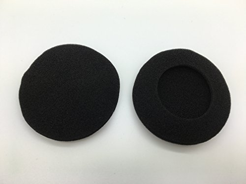 - (1 Pair) Replacement Plantronics Foam Ear Pad Cushion For Plantronics Audio 310 470 478 628 USB Headsets