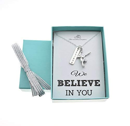 Gymnast and Believe Charm on a 16