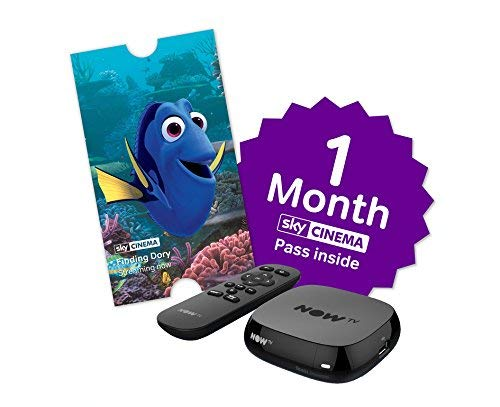 NOW TV Box with 2 Month Entertainment Pass and Sky...