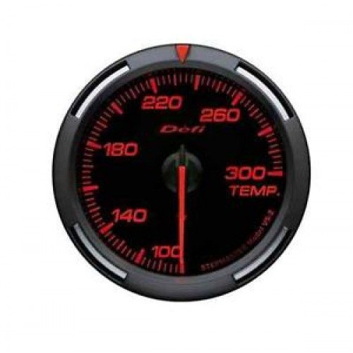 Defi Link Gauges (Defi DF06702 Racer Water/Oil Temperature Gauge, Red, 52mm)