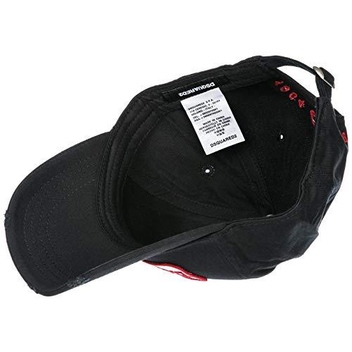 Coton Dsquared2 En Réglable Homme Noir Chapeau A8Bq4F