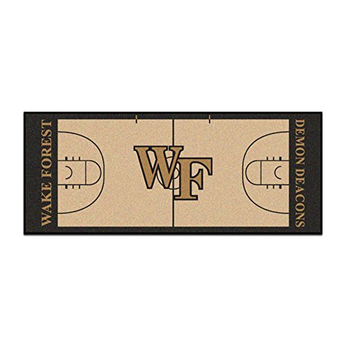 - Fan Mats Wake Forest University Basketball Court Runner
