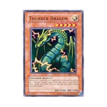 Yu-Gi-Oh! - Thunder Dragon (DB2-EN058) - Dark Beginnings 2 - Unlimited Edition - Common