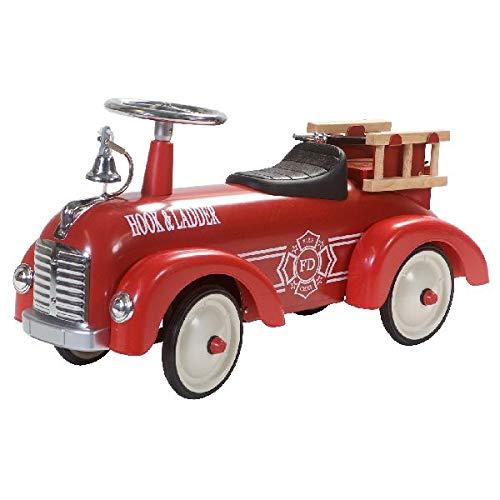 Bobby-Car Feuerwehr - Feuerwehr-Rutscher - Oldtimer Feuerwehr Rutscher - Retro Roller Speedster Fire