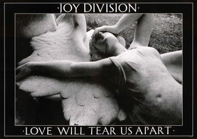 Joy Division Love Will Tear Us Apart Music Poster Print by Adam Hersh Posters