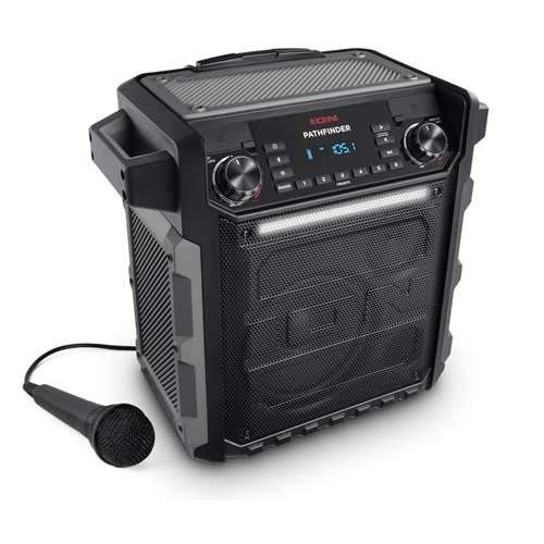 Ion Pathfinder II Rugged Bluetooth Portable Speaker ()