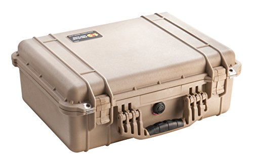 Pelican 1520 Camera Case With Foam (Desert Tan) by Pelican