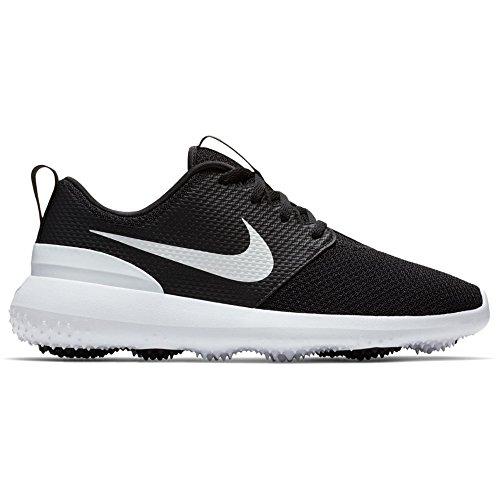 Golf Shoes Women 8.5. NIKE Roshe G Spikeless Golf Shoes 2018 Women Black/White Medium 8.5 #golf