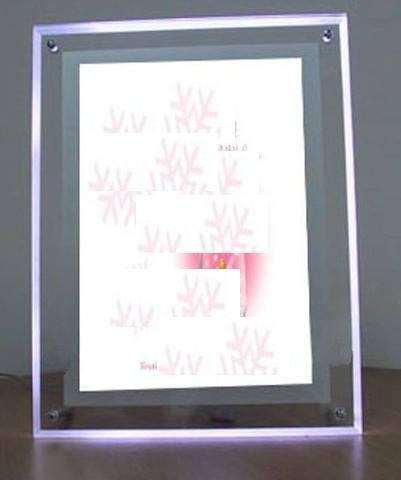 Gowe Acrylic led digital photo frame A4 Size, 5 Pcs by Gowegroup LED Light Box