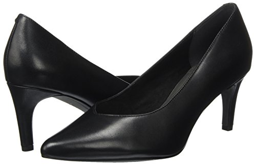 Pumps Women's 22430 Tamaris toe Closed Black Leather black wSWIx5q1xR