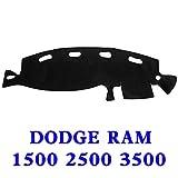 01 ram dash cover - Original Car Dashboard Carpet Dash board Cover Mat For 98-01 DODGE RAM 1500 2500 3500 BLACK
