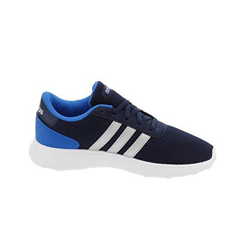 adidas Unisex-Kinder Lite Racer K Turnschuhe, Blau (Maruni/Plamat/Azul), 36 EU