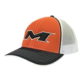 26a9c38e404 Miken Trucker Mesh Hat - Orange White - S M - MTRUCK-ORG-S M ...