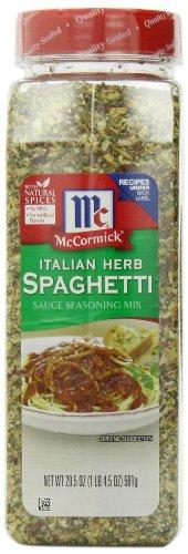 McCormick Italian Spaghetti Seasoning 20 5 Ounce