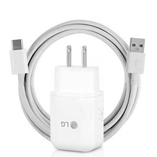 LG G5 & Nexus 5X USB Type C (USB-C) Cable & Fast Charge Wall Charger