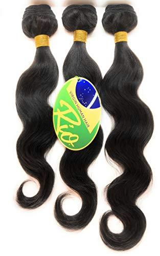RIO VIRGIN HUMAN HAIR - 10A BRAZILIAN HAIR - UNPROCESSED BRAZILIAN - Tangle-Free, Shed-Free, Worry-Free (14