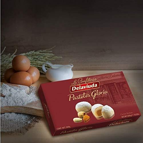 Delaviuda - Pasteles Gloria, elaborado con mazapan y batata 300gr Calidad suprema - No Gluten: Amazon.es: Alimentación y bebidas