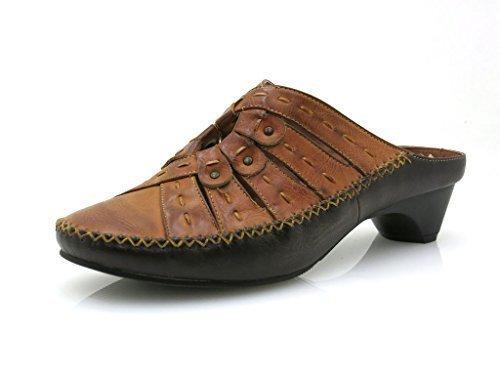 marron Sabot Chaussures Walk Stone Pour Style Femmes Mule 3622 joli Mocassin PwRxCxqS