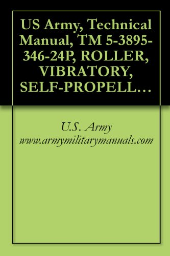 US Army, Technical Manual, TM 5-3895-346-24P, ROLLER, VIBRATORY, SELF-PROPELLED, IMPACT, SINGLE SMOOTH DRUM, (CCE), TAMPO MODEL RS-28, (NSN 3895-01-012-8875), military manuals