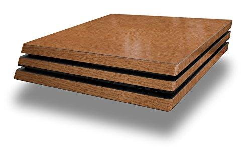 WraptorSkinz PS4 Pro Skin Wood Grain - Oak 02 - Decal Style Skin Wrap fits Sony PlayStation 4 Pro Console (Ps4 Wood Grain Skins)