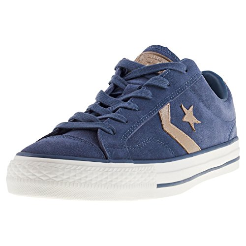 Converse Mens Star Player Ox Suede Trainers Sharkskin Khaki BQuPcCg