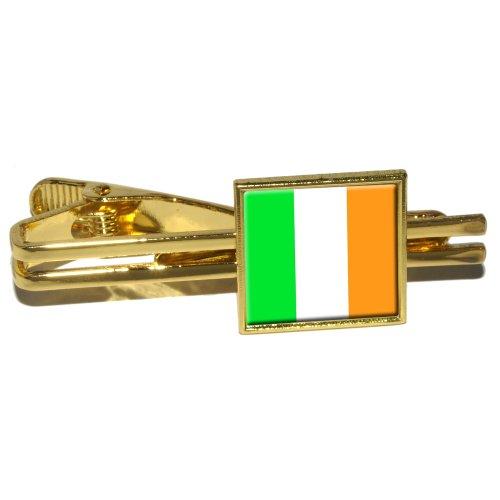 Irish Ireland Flag Square Clasp