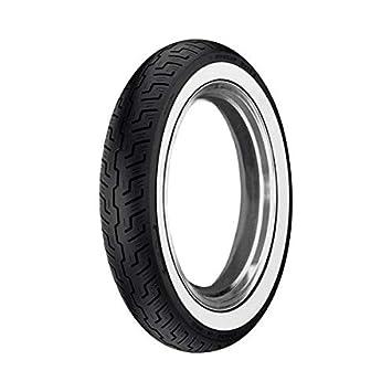 Neumático Delantera Dunlop k177 120/90 - 18 templada TL Banda Blanca: Amazon.es: Coche y moto