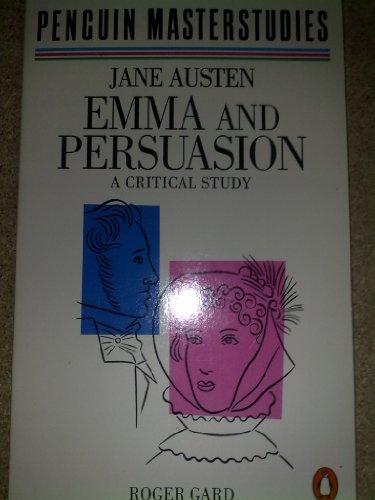 Persuasion And Emma (Masterstudies)