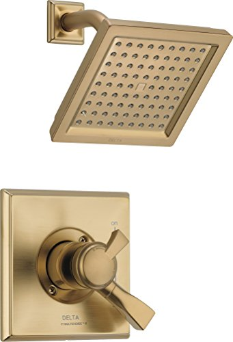 Delta Faucet T17251-CZ-WE Dryden Monitor 17 Series Shower Trim, Champagne Bronze ()