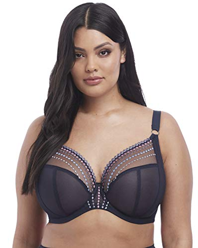 Elomi Women's Plus Size Matilda Unlined Plunge Underwire Bra, Unicorn