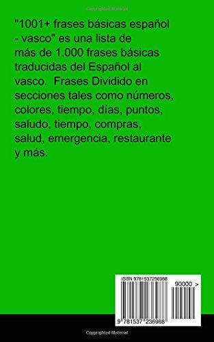Buy 1001 Frases Básicas Español Vasco Book Online At Low