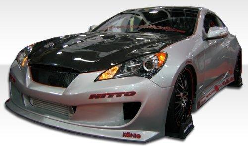 2dr Hot Wheels - 2010-2012 Hyundai Genesis 2DR Duraflex Hot Wheels Kit - Includes Hot Wheels Front bumper (105828) Hot Wheels Sideskirts (105829) Hot Wheels Rear bumper (105830) - Duraflex Body Kits