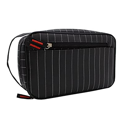 4353aba020 ... Business Camping Travel. 50%OFF TePiLl Men s Toiletry Washing Bag  Shaving Dopp Kit Vacation Storage Pouch for Business