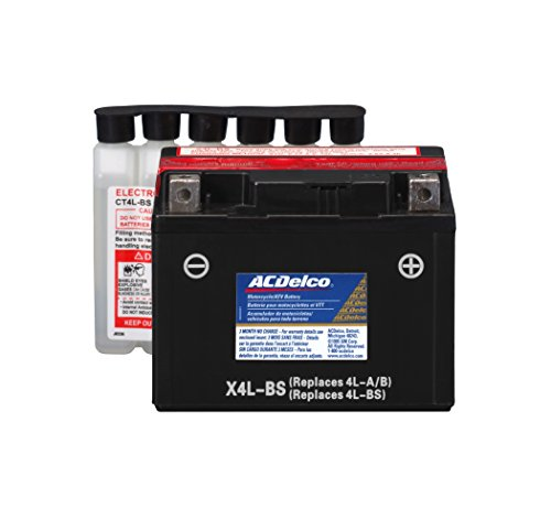 (ACDelco ATX4LBS Specialty AGM Powersports JIS 4L-BS Battery)